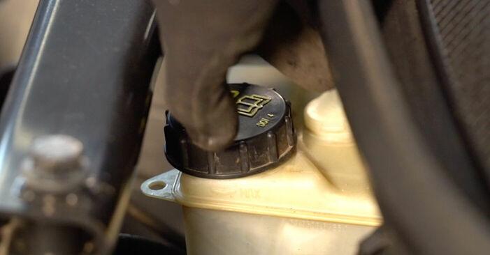 Cik grūti ir veikt Bremžu diski nomaiņu Volvo V70 SW 2.4 D 2005 - lejupielādējiet ilustrētu ceļvedi