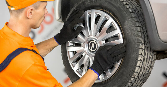 Changing of Brake Shoes on Opel Corsa C 2008 won't be an issue if you follow this illustrated step-by-step guide