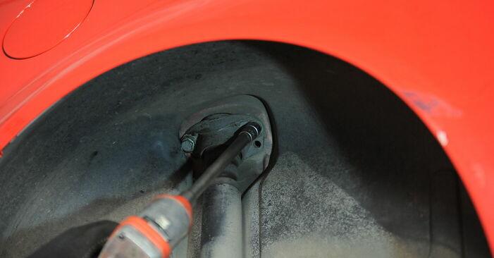 Så byter du Fjäderbenslagring på VW Golf IV Hatchback (1J1) 2002: ladda ned PDF-manualer och videoinstruktioner