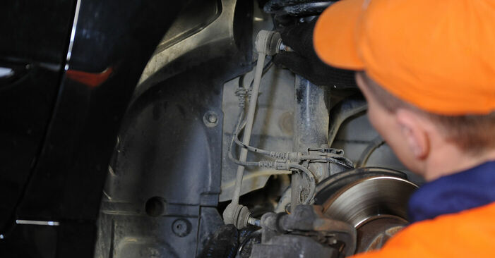 Need to know how to renew Anti Roll Bar Links on MERCEDES-BENZ A-CLASS ? This free workshop manual will help you to do it yourself