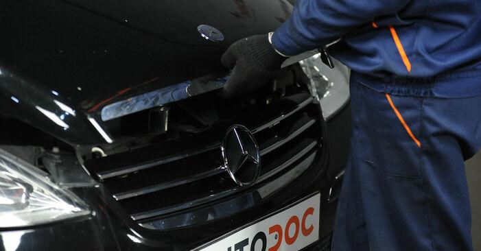 Cómo es de difícil hacerlo usted mismo: reemplazo de Pastillas De Freno en un Mercedes W169 A 200 2.0 (169.033, 169.333) 2010 - descargue la guía ilustrada