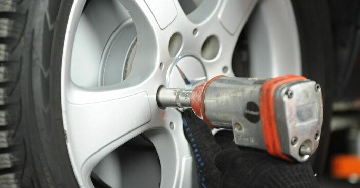 Schritt-für-Schritt-Anleitung zum selbstständigen Wechsel von Mercedes W169 2008 A 200 CDI 2.0 (169.008, 169.308) Bremsscheiben