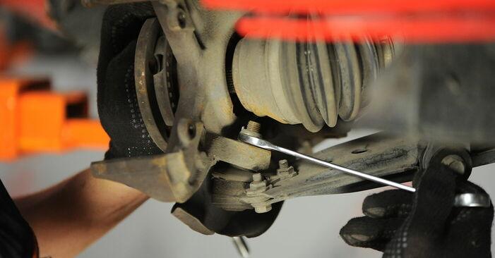 Stufenweiser Leitfaden zum Teilewechsel in Eigenregie von Golf 4 2001 1.8 T Radlager