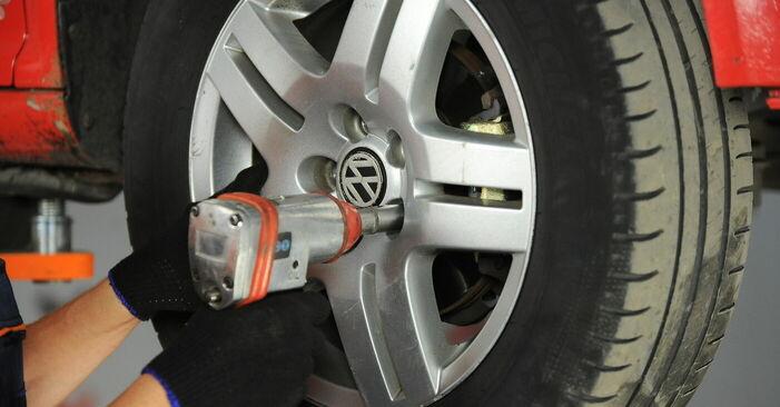 Wie man VW GOLF IV (1J1) 1.4 16V 1998 Radlager wechselt - Schritt-für-Schritt-Leitfäden und Video-Tutorials
