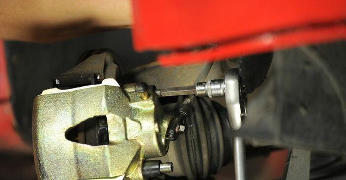 Wie man Radlager beim VW GOLF IV (1J1) 2002 auswechselt – Downloaden Sie sich PDF-Tutorials und Videoanleitungen herunter