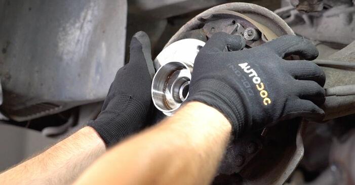 Schritt-für-Schritt-Anleitung zum selbstständigen Wechsel von Citroen Xsara Picasso 2012 1.6 16V Radlager