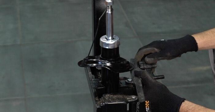 XSARA PICASSO (N68) 1.6 16V 2010 Blazilnik DIY menjava, priročnik delavnice