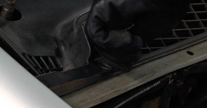 Kako zamenjati Blazilnik na CITROËN XSARA PICASSO (N68) 2004 - prenesite PDF priročnike in video navodila