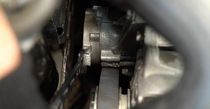 Så byter du Multirem på VW TOURAN (1T1, 1T2) 2008: ladda ned PDF-manualer och videoinstruktioner