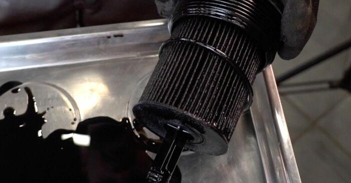 Kā nomainīt Eļļas filtrs VW TOURAN (1T1, 1T2) 2008 - lejupielādējiet PDF rokasgrāmatas un video instrukcijas