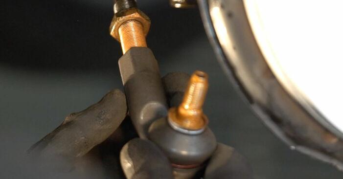 Tausch Tutorial Spurstangenkopf am VW TOURAN (1T1, 1T2) 2007 wechselt - Tipps und Tricks