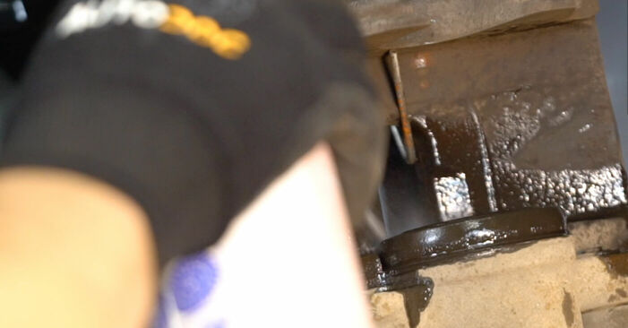 Recomendaciones paso a paso para la sustitución por su cuenta Touran 1t1 1t2 2008 1.6 FSI Pastillas De Freno