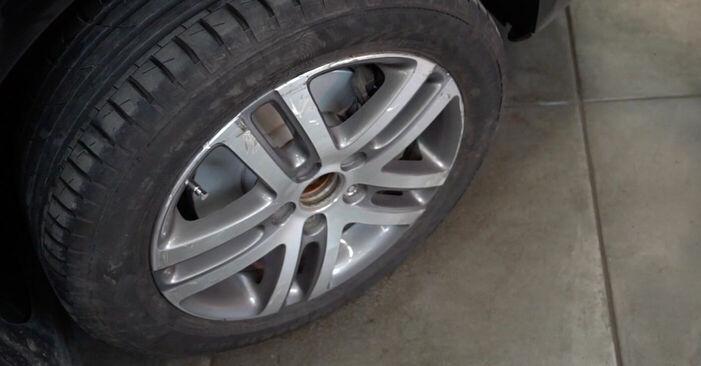 Vaihtaa Koiranluu itse VW TOURAN (1T1, 1T2) 1.4 TSI 2006 -autoon