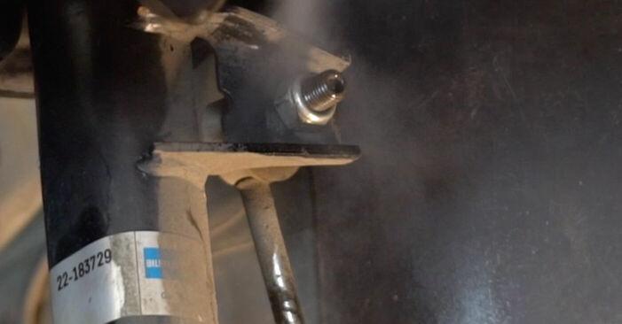 Stufenweiser Leitfaden zum Teilewechsel in Eigenregie von Touran 1t1 1t2 2008 1.6 FSI Stoßdämpfer