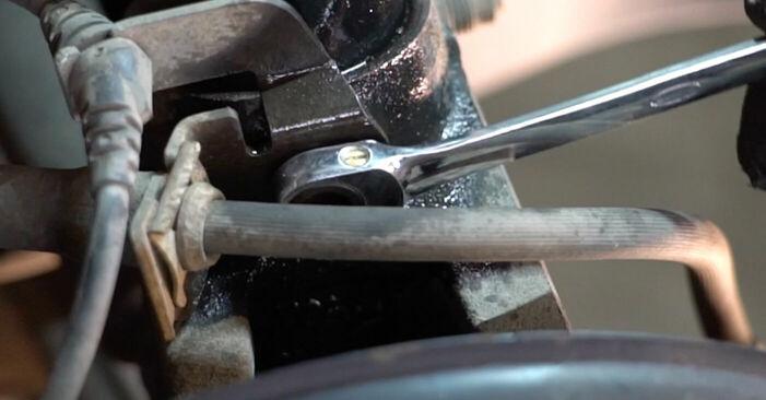 Touran 1t1 1t2 2.0 TDI 16V 2005 Stoßdämpfer austauschen: Unentgeltliche Reparatur-Tutorials