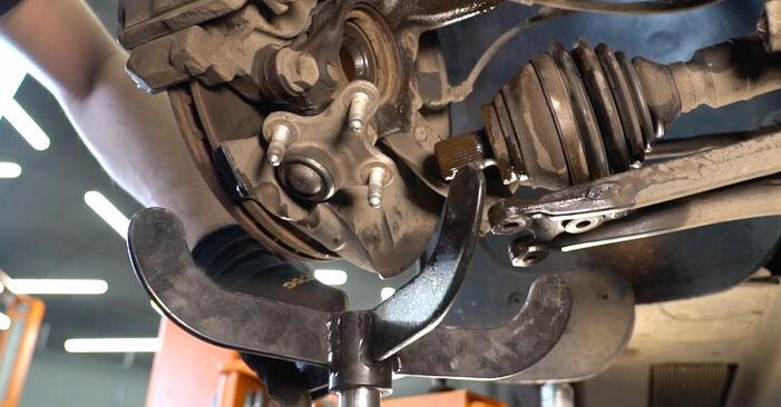 TOURAN (1T1, 1T2) 1.6 FSI 2006 Stoßdämpfer - Tutorial zum selbstständigen Teilewechsel