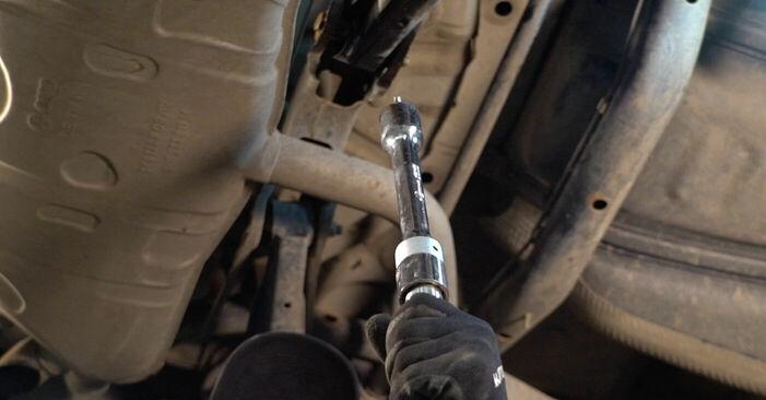 Cum să înlocuiți Arc spirala la VW TOURAN (1T1, 1T2) 2011: descărcați manualele în format PDF și instrucțiunile video