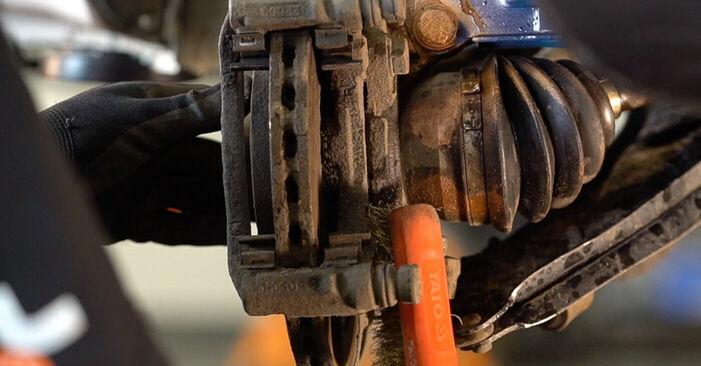 DOBLO Cargo (223) 1.3 JTD 16V 2012 1.3 D Multijet Bremsscheiben - Handbuch zum Wechsel und der Reparatur eigenständig