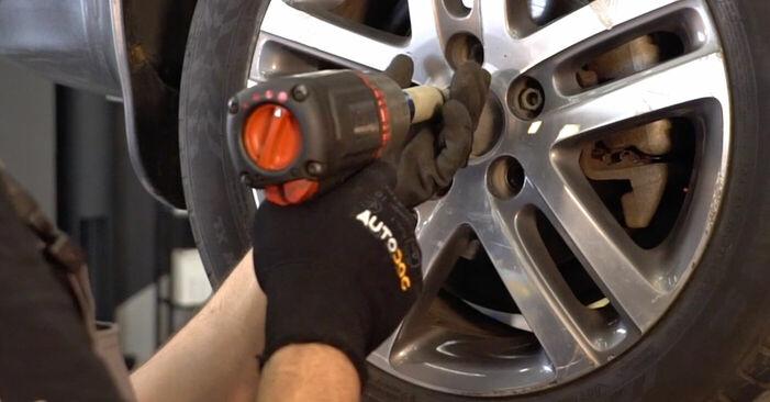 Ersetzen Sie Stoßdämpfer am VW TOURAN (1T1, 1T2) 1.4 TSI 2006 selber