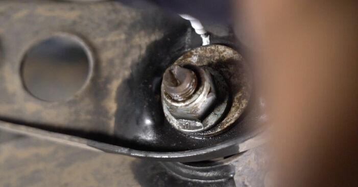 Wie kompliziert ist es, selbst zu reparieren: Stoßdämpfer am Touran 1t1 1t2 1.9 TDI 2009 ersetzen – Laden Sie sich illustrierte Wegleitungen herunter