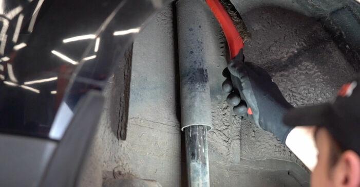 Wie schwer ist es, selbst zu reparieren: Domlager Ford Focus mk2 Limousine 1.4 2010 Tausch - Downloaden Sie sich illustrierte Anleitungen