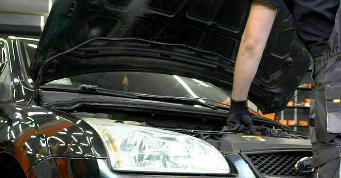 Wie Ölfilter Ford Focus mk2 Limousine 1.6 TDCi 2004 tauschen - Kostenlose PDF- und Videoanleitungen