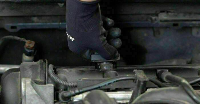 Ölfilter Ford Focus mk2 Limousine 1.6 2006 wechseln: Kostenlose Reparaturhandbücher