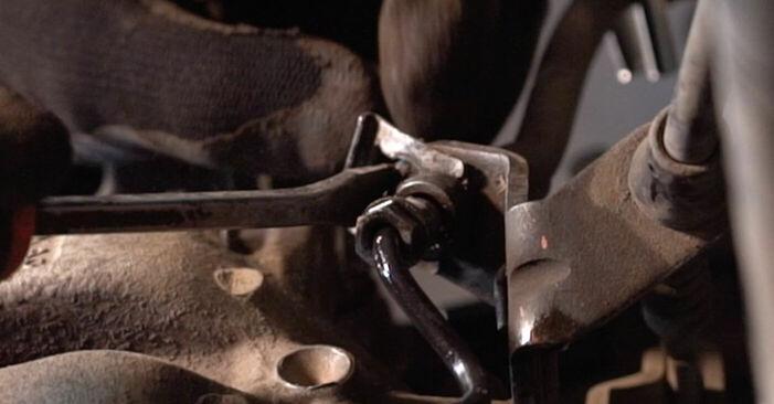 TOURAN (1T1, 1T2) 1.6 FSI 2006 Bremssattel - Wegleitung zum selbstständigen Teileersatz