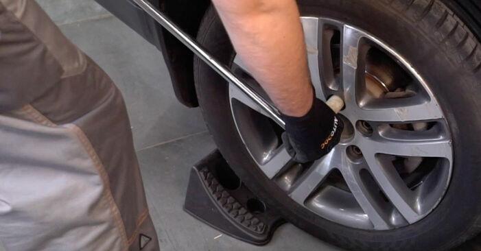 Touran 1t1 1t2 2.0 TDI 16V 2005 Bremssattel wechseln: Kostenfreie Reparaturwegleitungen