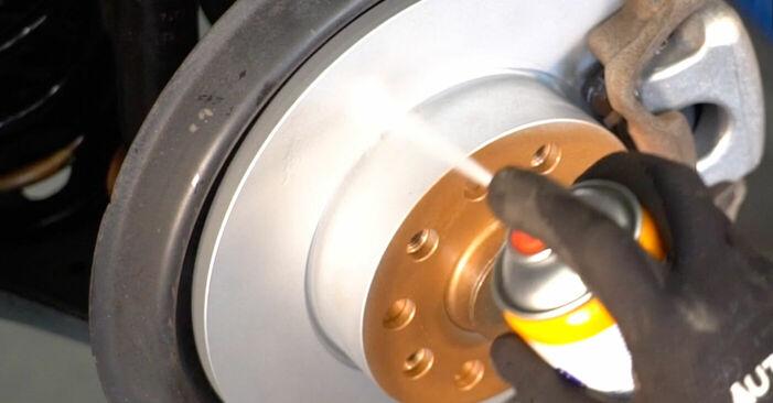Hinweise des Automechanikers zum Wechseln von VW TOURAN (1T1, 1T2) 2.0 TDI 2009 Bremssattel
