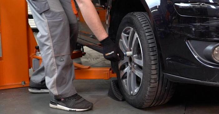 Hoe Draagarm VW TOURAN (1T1, 1T2) 1.9 TDI 2004 vervangen – stap voor stap leidraden en video-tutorials