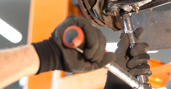 VW TOURAN 2010 Draagarm stap voor stap instructies voor vervanging