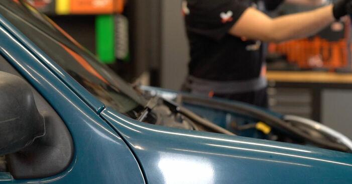Comment changer Filtre à Huile sur Renault Kangoo kc01 1997 - Manuels PDF et vidéo gratuits