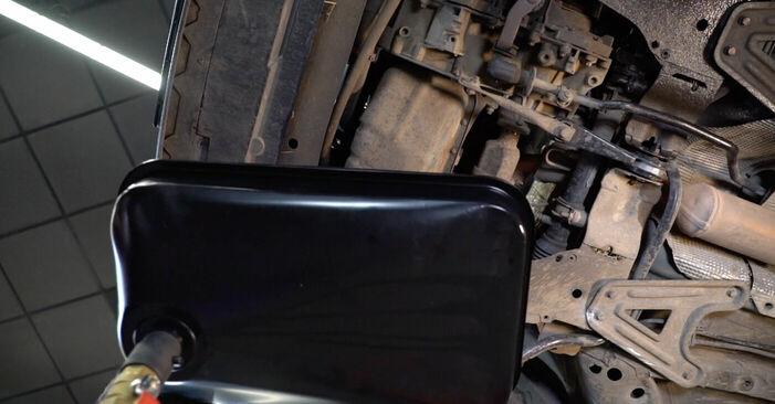 Combien de temps dure le remplacement : Filtre à Huile sur Renault Kangoo kc01 2005 - manuel PDF informatif