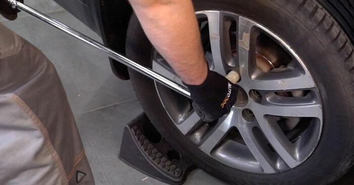 Как да сменим VW TOURAN (1T1, 1T2) 1.9 TDI 2004 Носач На Кола - стъпка по стъпка инструкции и видео ръководства