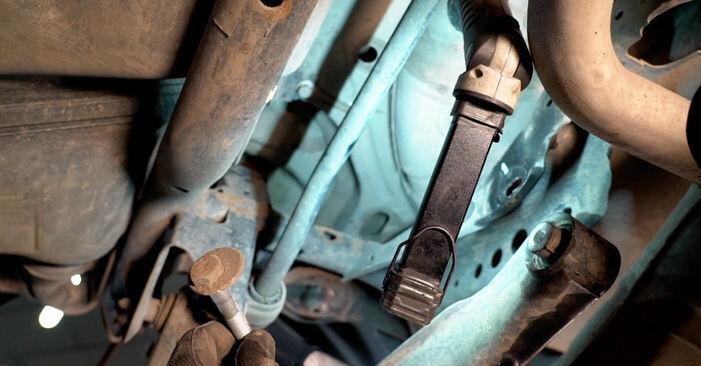 Как да сменим Носач На Кола на VW TOURAN (1T1, 1T2) 2008: свалете PDF наръчници и видео инструкции