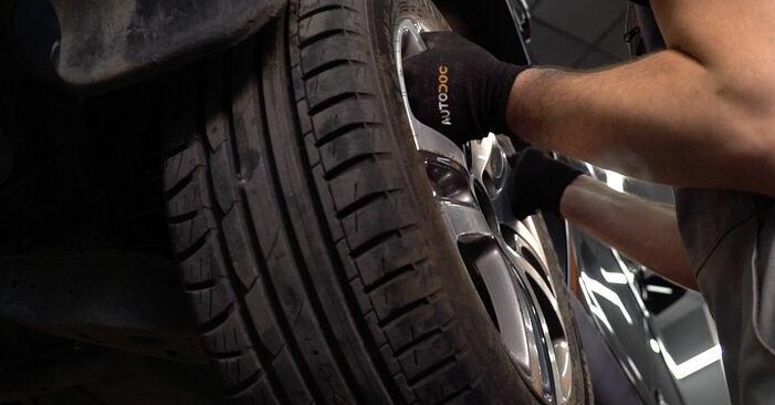 Смяна на Touran 1t1 1t2 2.0 TDI 16V 2005 Носач На Кола: безплатни наръчници за ремонт