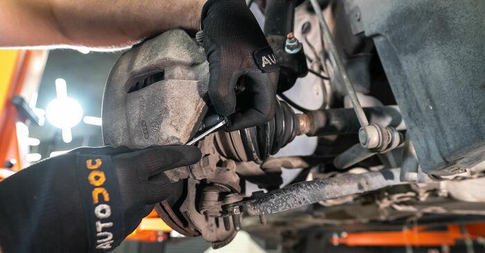 TOURAN (1T3) 1.2 TSI 2015 Brake Calipers DIY replacement workshop manual