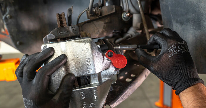How to remove VW TOURAN 1.2 TSI 2014 Brake Calipers - online easy-to-follow instructions