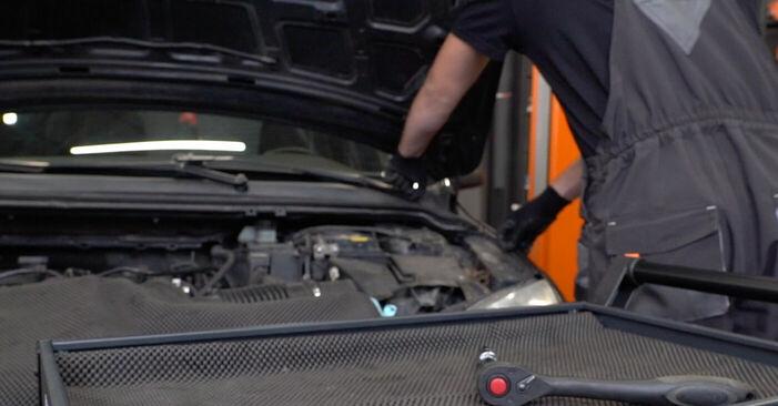 Ford Focus mk2 Sedan 1.8 TDCi 2006 Rugózás cseréje: ingyenes szervizelési útmutatók