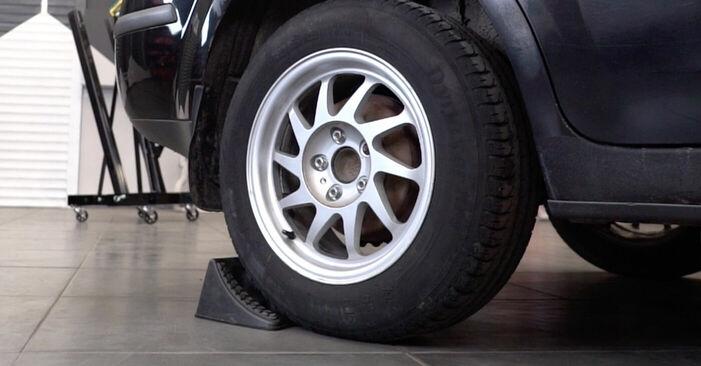 Wie Querlenker Ford Focus mk2 Limousine 1.6 TDCi 2004 tauschen - Kostenlose PDF- und Videoanleitungen