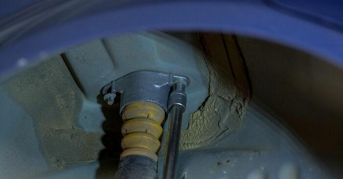Ford Fiesta V jh jd 1.4 16V 2003 Strut Mount replacement: free workshop manuals