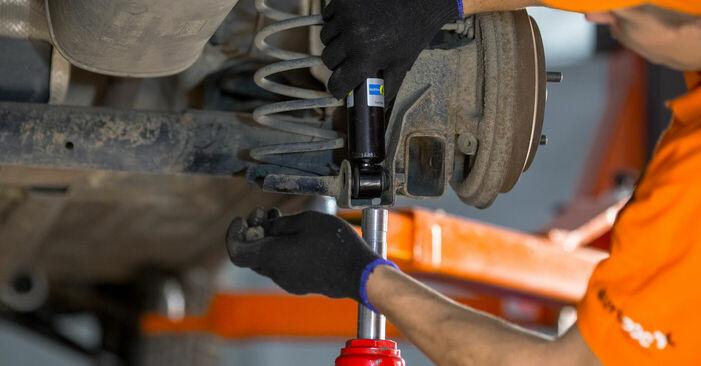 Wechseln Domlager am FORD Fiesta Mk5 Schrägheck (JH1, JD1, JH3, JD3) 1.25 16V 2004 selber
