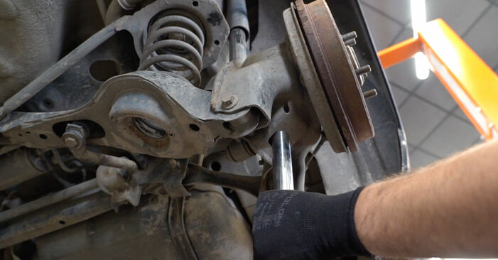 How to remove FORD FOCUS 1.6 Ti 2008 Control Arm - online easy-to-follow instructions