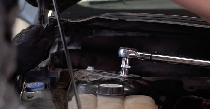 Смяна на Ford Focus mk2 Седан 1.8 TDCi 2006 Тампон Макферсон: безплатни наръчници за ремонт