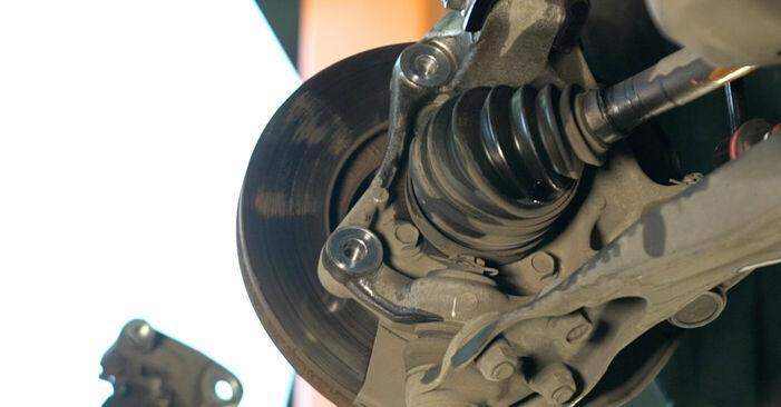 Steg-för-steg-rekommendationer för att byta Toyota Prius 2 2009 1.5 (NHW2_) Bromsskivor på egen hand