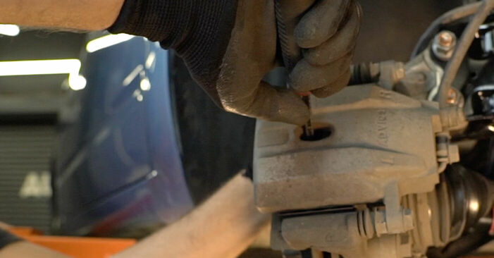 Cât de greu este să o faceți singur: înlocuirea Placute Frana la Toyota Prius 2 1.5 (NHW2_) 2009 - descărcați ghidul ilustrat