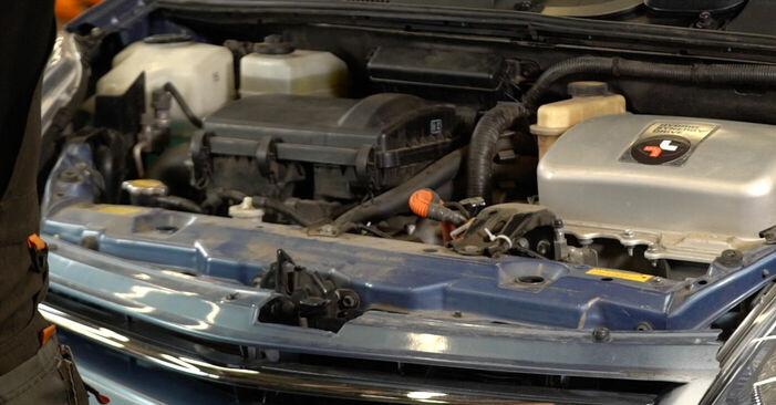 Hur byta Multirem på Toyota Prius 2 2000 – gratis PDF- och videomanualer