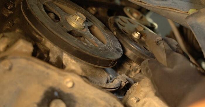 Byt Multirem på Toyota Prius 2 2000 1.5 (NHW2_) på egen hand