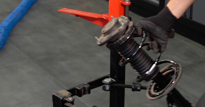 Steg-för-steg-rekommendationer för att byta Toyota Prius 2 2009 1.5 (NHW2_) Stötdämpare på egen hand